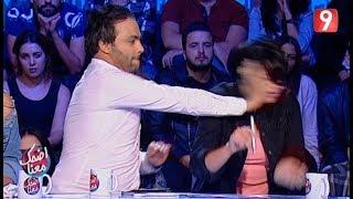 Idhak maana | أحمد الأندلسي يعنف لبنى السديري