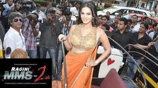 Sunny Leone Attends A Media Interaction Held After The Success Party Of The Movie 'Ragini MMS 2'