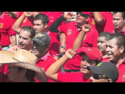 Napoleon Gomez Urrutia - Message to IndustriALL Congress 2012