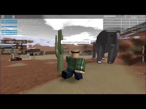 roblox zoo tycoon codes 2018