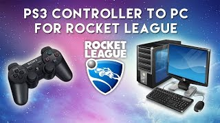 How to Connect PS3 Controller to PC for Rocket League (and other games)