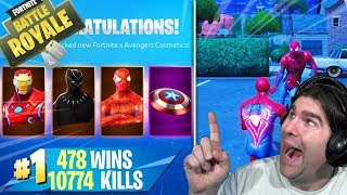 🔴 FORTNITE Lv.100 PATCH 8.50! AVENGERS! CODE SUPPORT -xiuderone