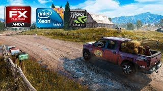 Far Cry 5 | AMD FX8320 VS i7-3770 | GTX 1050Ti | Benchmark and Gameplay #1