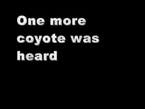 Don Edwards - Coyotes (Lyrics On Screen)