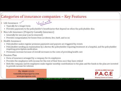 Insurance Companies and Pension Plans
