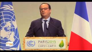 انطلاق قمة المناخ بباريس رغم التحديات الأمنية  و تفاؤل لتوقيع اتفاق للحد من انبعاث غاز الكربون