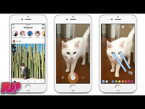 New Instagram Update Adds STORIES Just Like Snapchat