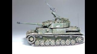 Last German Panzer Battle - Six Day War 1967