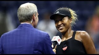 Osaka in US Open Final vs Serena Funniest on court interview