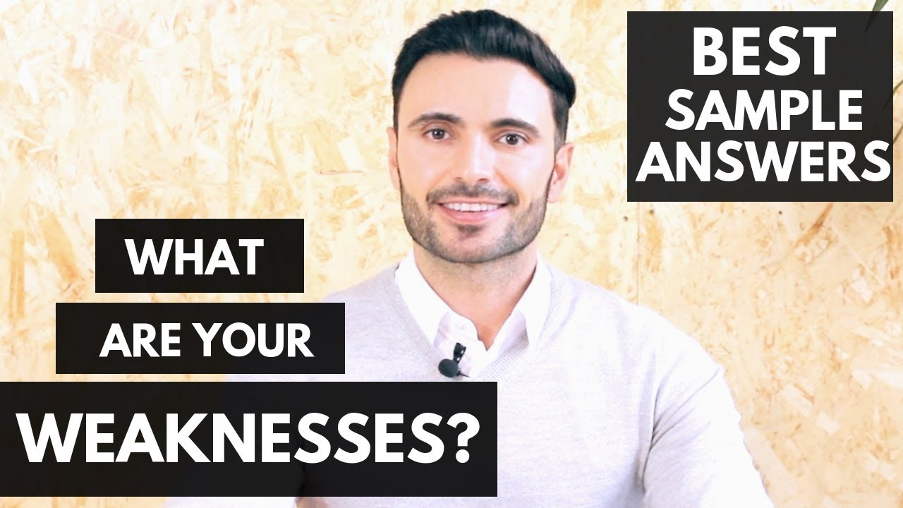 How To Answer: What Are Your Greatest Weaknesses? (Job Interview Questions  Guide + 4 Examples)