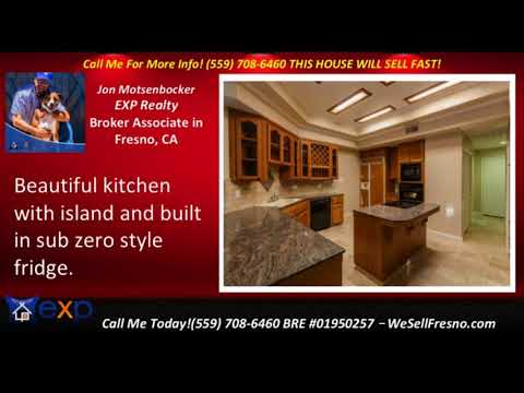 must-see 4 bed 3.5 bath homes for sale Fresno California with fully finished 3 car garage
