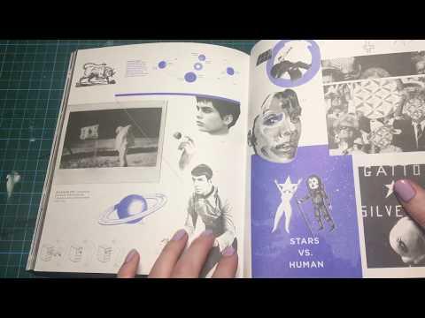 ASMR Art Magazine Show and Tell