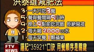 台大學者教減肥 4個月瘦17KG-民視新聞