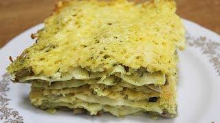 Лазанья болоньезе рецепт с курицей и грибами / lasagne bolognesi