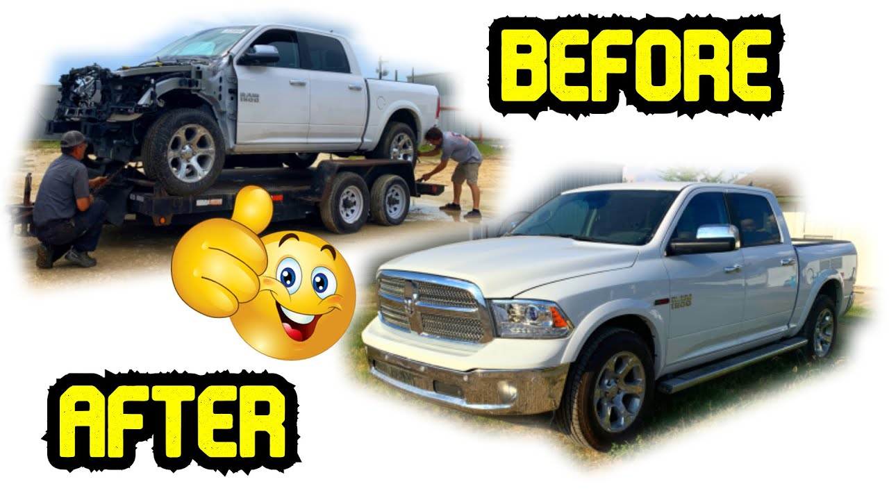 Rebuilding A Salvage Ram Truck Mission Complete! Cheaper Than I Budgeted
