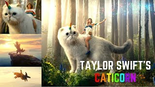 The Best Taylor Swift Comercial CATICORN!