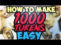 HOW TO MAKE 1000+ TOKENS EASY!! BEST WAY TO GET A PINK DIAMOND ASAP! NBA 2K19 MYTEAM TOKEN TUTORIAL