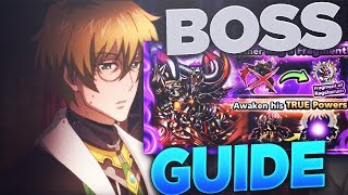 Grand Summoners - Giant Boss Guide - Ragsherum Phantom One Shot Method