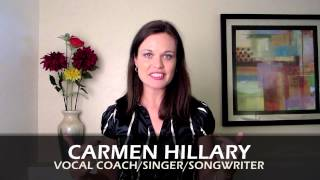 Welcome to Spiracle Music Online Singing Tips!