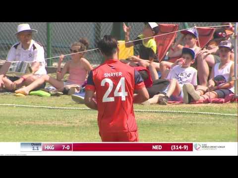 HKG v NED 2nd innings Match 2