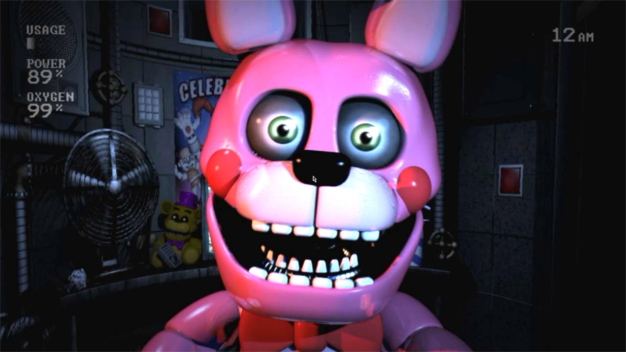 NEW BONNET JUMPSCARE!! Five Nights at Freddy\u0027s Sister Location , YouTube