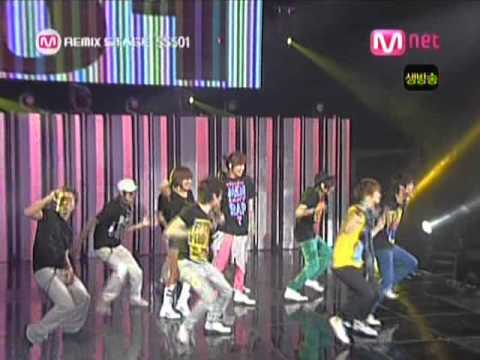 SS501  A Song Calling For You Remix 20080522 Mnet Countdown