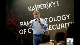 Eugene Kaspersky presents Cyberspace, The Survival Guide