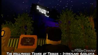 MrBrightside916 Roblox Theme Park & Attraction Reviews - The Hollywood Tower of Terror full ride