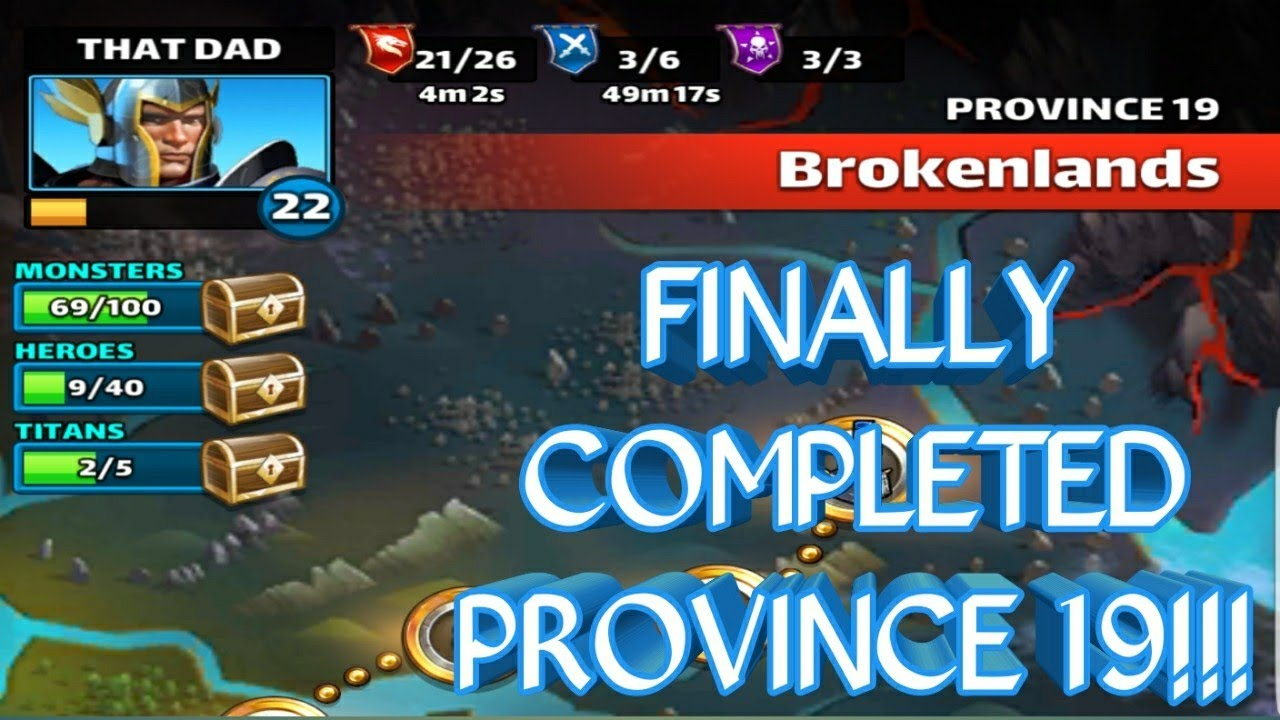 PROVINCE 19 COMPLETED!!! EMPIRES AND PUZZLES