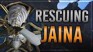 Rescuing Jaina Proudmoore - Battle for Azeroth Questline!