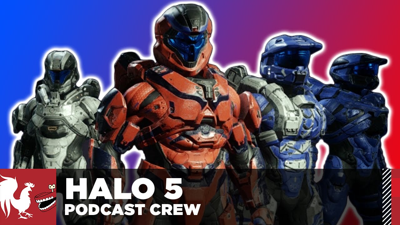 let s play halo 5 the rooster teeth podcast crew youtube