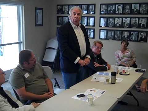 Oceanside CA Chamber Member, Jerry Salyer introduces his business