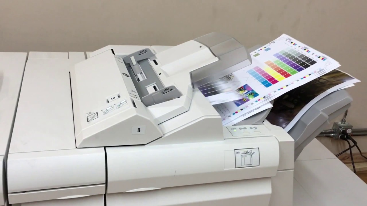 XEROX COLOR C70 PRINTER by ABD Office Solutions Inc
