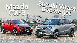 Mazda CX-3 VS Suzuki Vitara Boosterjet - ¿Cuál es mejor? | Autocosmos