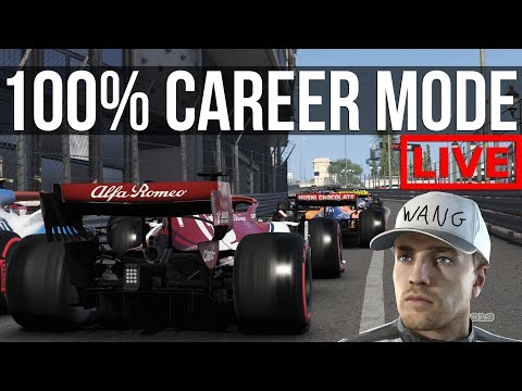 F1 2019 - Trying To Survive The Monaco Grand Prix | 100% Career Mode