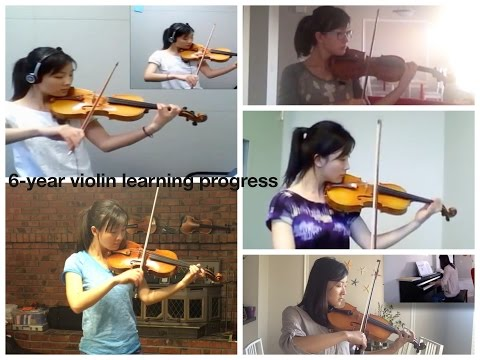 6 year violin learning progress - adult beginner violinist