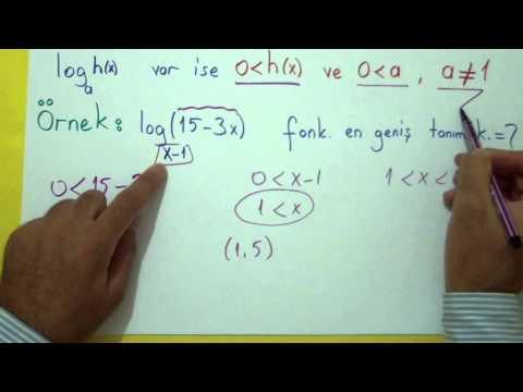 Logaritma 3 Şenol Hoca Matematik