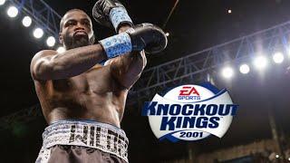 KNOCKOUT KINGS 2001 PS2 FLOYD MAYWEATHER VS SWEET PEA!!
