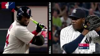 Big papi vs Chapman