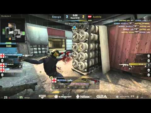 The World Championships 2015 (European Qualifier) | Georgia vs. Austria | (Map: Cache)