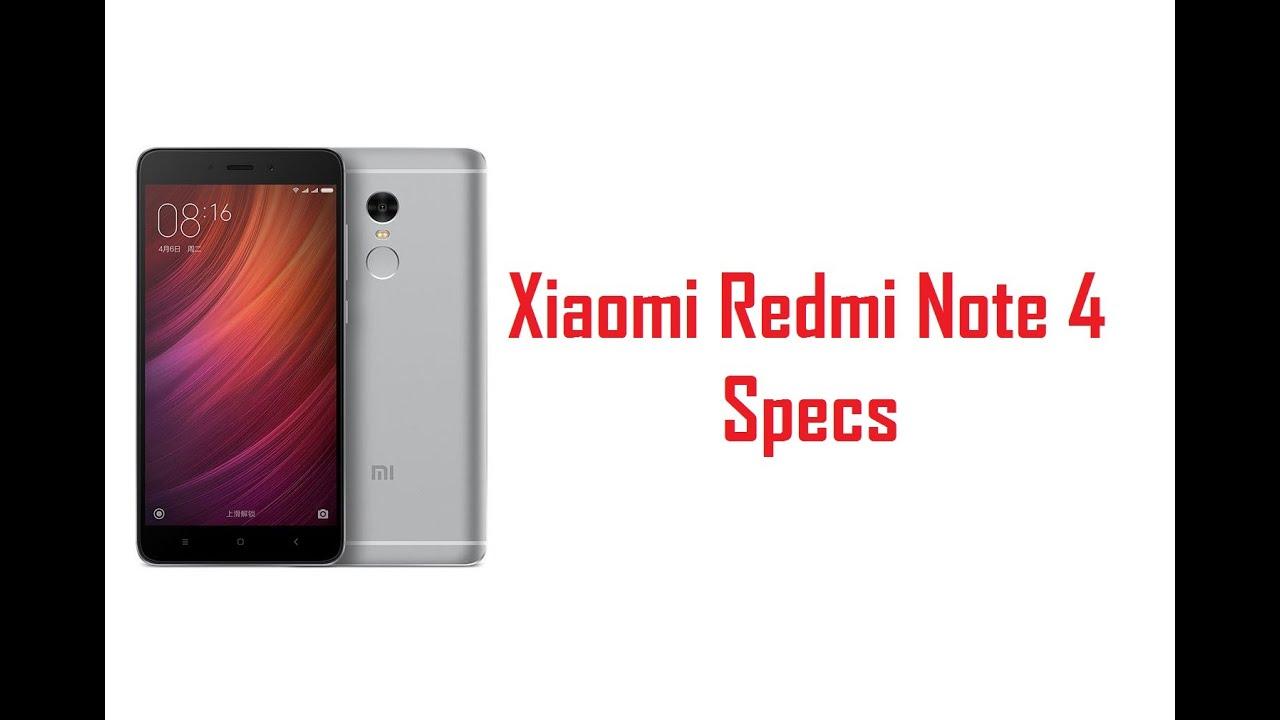 Xiaomi Redmi Note 4 Full Specification: Xiaomi Redmi Note 4 Specs, Features & Price