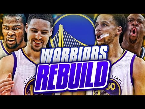 REBUILDING THE GOLDEN STATE WARRIORS! NBA 2K17 MY LEAGUE
