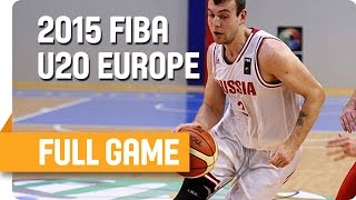 Russia v Croatia - Group G - Full Game - U20 European Championship Men