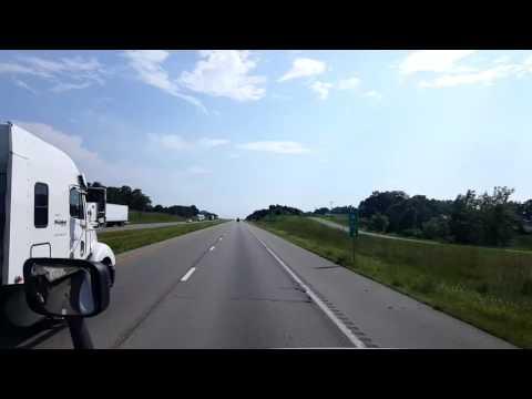 Bigrigtravels Live! Lebanon  to Joplin,  Missouri Interstate 44 August 10, 2016