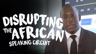 Vusi Thembekwayo talks about disrupting the African public speaking circuit