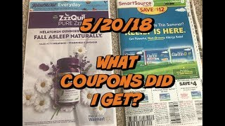5/20/18 | What Coupons Did I Get?