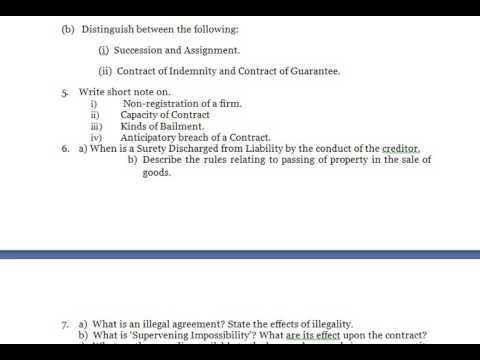 Business Law Discuss The Term Continuing Guarantee How Can It Be