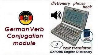 German Verb Conjugation Deutsch Konjugation dictionary translator Deutsch Übersetzer Wörterbuch(, 2013-01-22T11:15:59.000Z)
