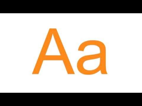 Türkçe Alfabesi (Alfabeto Turco - Turkish Alphabet)