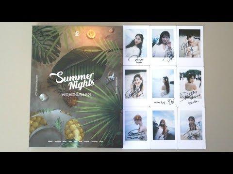 트와이스 (TWICE) Summer Nights Monograph Unboxing
